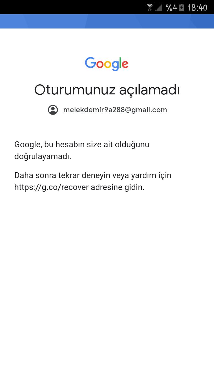 Gmail şifremi unuttum giriş yapamıyorum yardim eder misiniz?