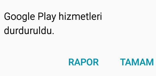 Goggle play hizmetleri durdurmaya devam ediyor